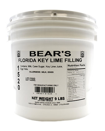Florida Key Lime Filling