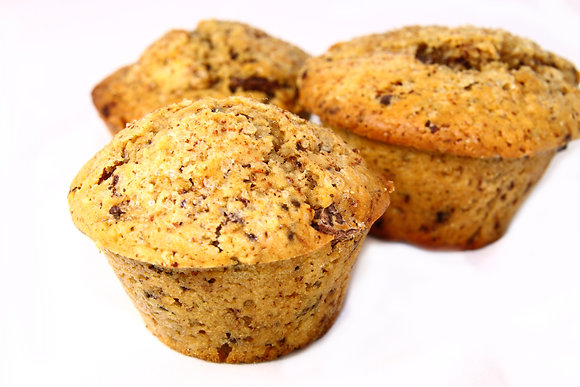 Plain Oat Bran Muffin