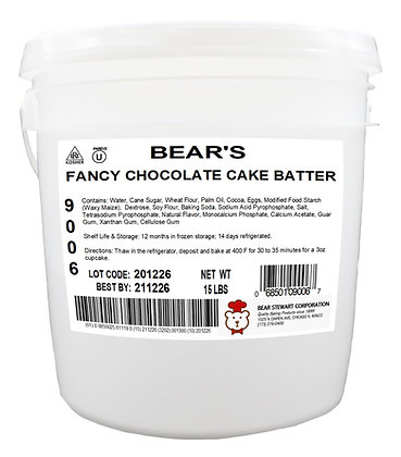 Fancy Chocolate Cake Batter