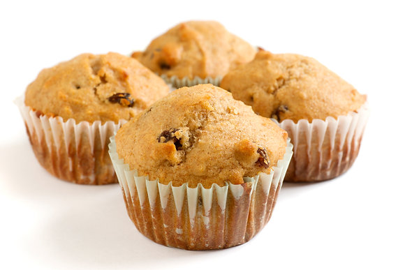 Raisin Oat Bran Muffin