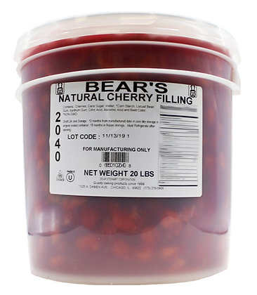 Natural Cherry Pie Filling