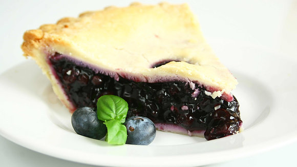 Natural Blueberry Pie Filling