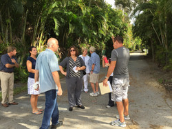 Neighborhood tour with City engineer