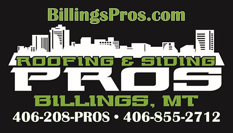 Business Cards front Roofing and Siding