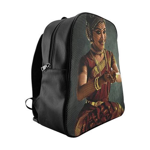 Dancing Girl School Backpack
