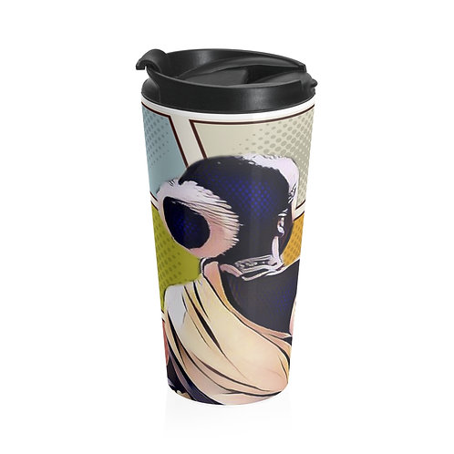 Flower-boy Stainless Steel Travel Mug