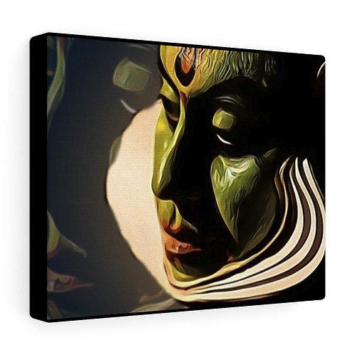 Masked Print on Canvas