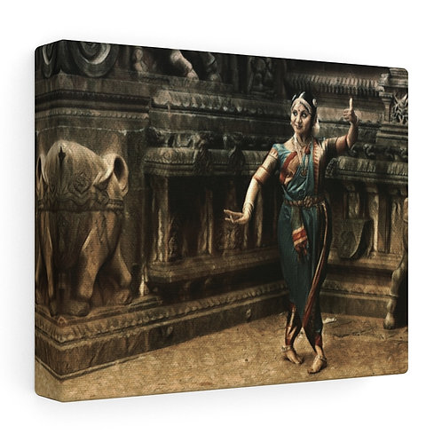 Thanjai Stretched canvas