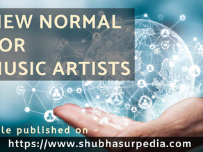 New Normal For Music Artists