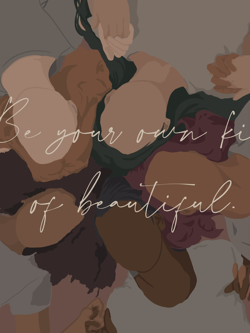 Be your own kind of beautiful_