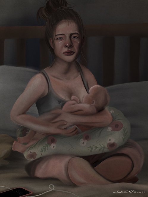 Motherhood Archival Print 11x14""