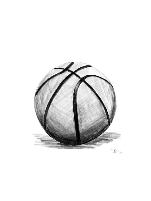 Basketball Digital Illustration