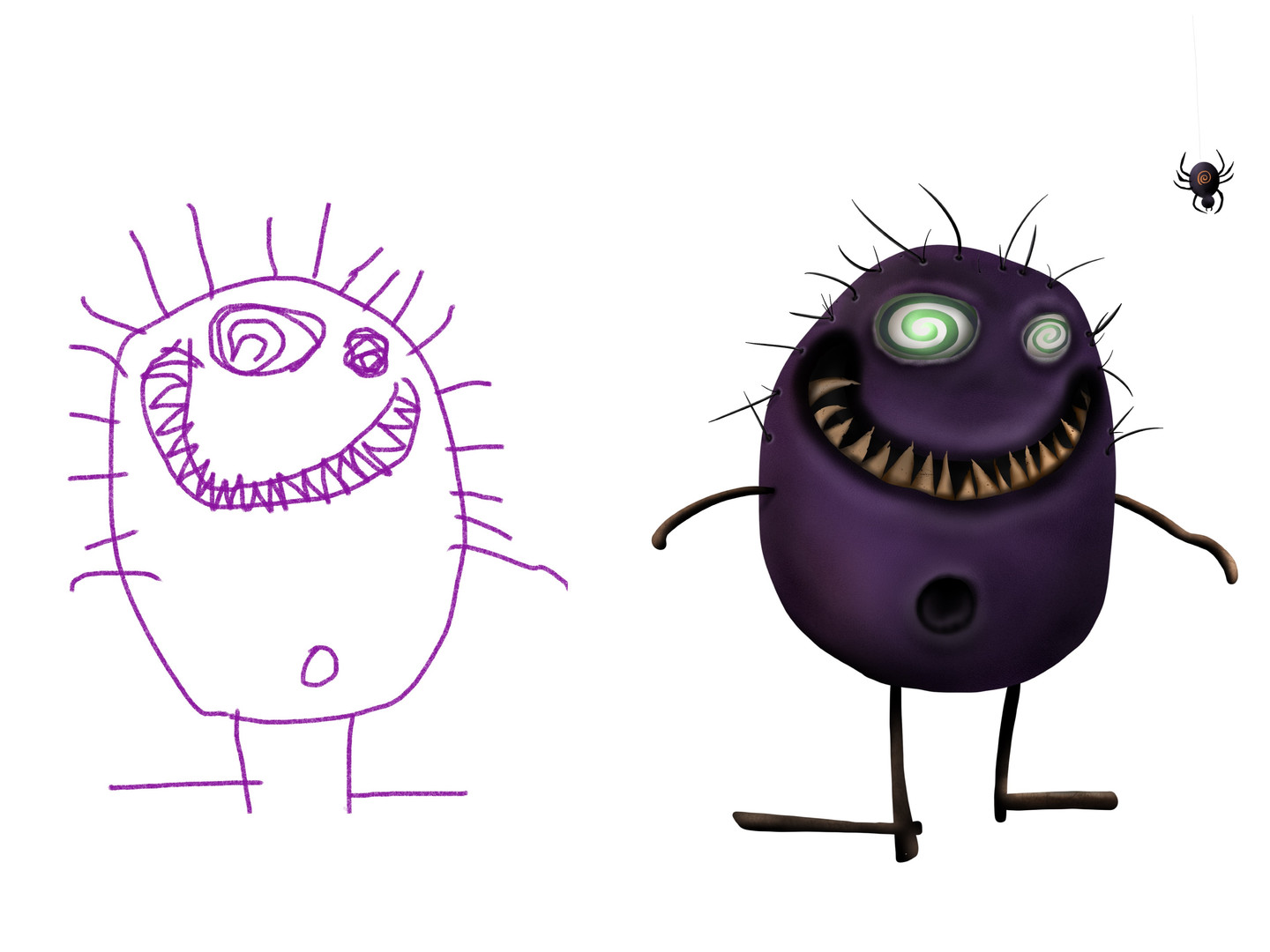 Belly Button Monster