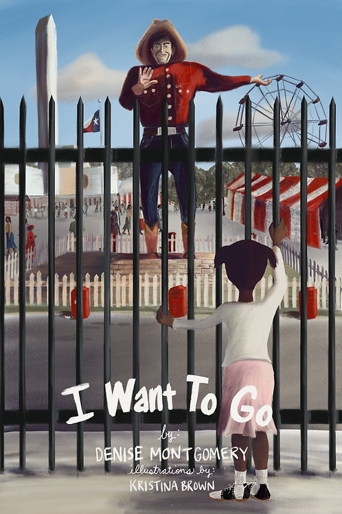"""Book Cover Illustration- """"I Want To Go"""""""