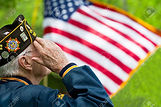 67615890-a-veteran-is-saluting-in-front-