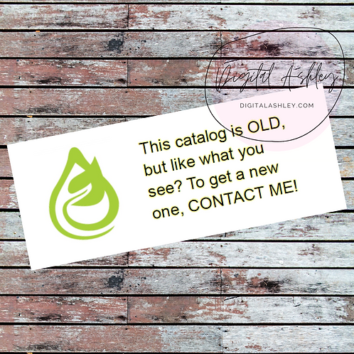 Healthy Living Old Brochure Labels for your Direct Sales Business