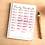 Thumbnail: Daily Workout Bullet Journal Exercise Tracker
