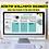 Thumbnail: Simple Teal Desktop Organizer Wallpaper