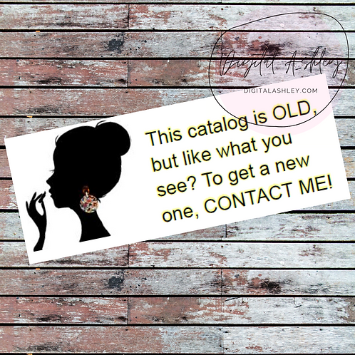 Jewelry Girl Old Brochure Labels for your Direct Sales Business