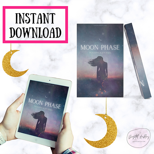 Moon Phase Tracking & Journal eBook Printables
