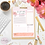Thumbnail: Personalized Lotus Notepad Planner Page