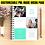 Thumbnail: Mint Block Single Page Pre-Made Layout Customized Media & Press Kit