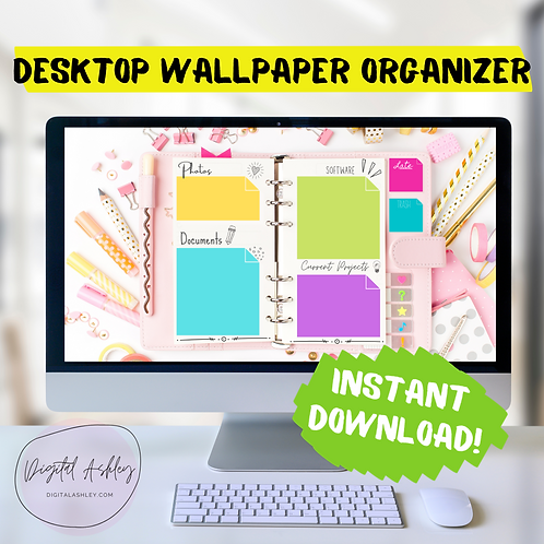 Planner Desktop Organizer Wallpaper