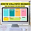 Thumbnail: Colors of Chevron Tape Organizing Desktop Wallpaper