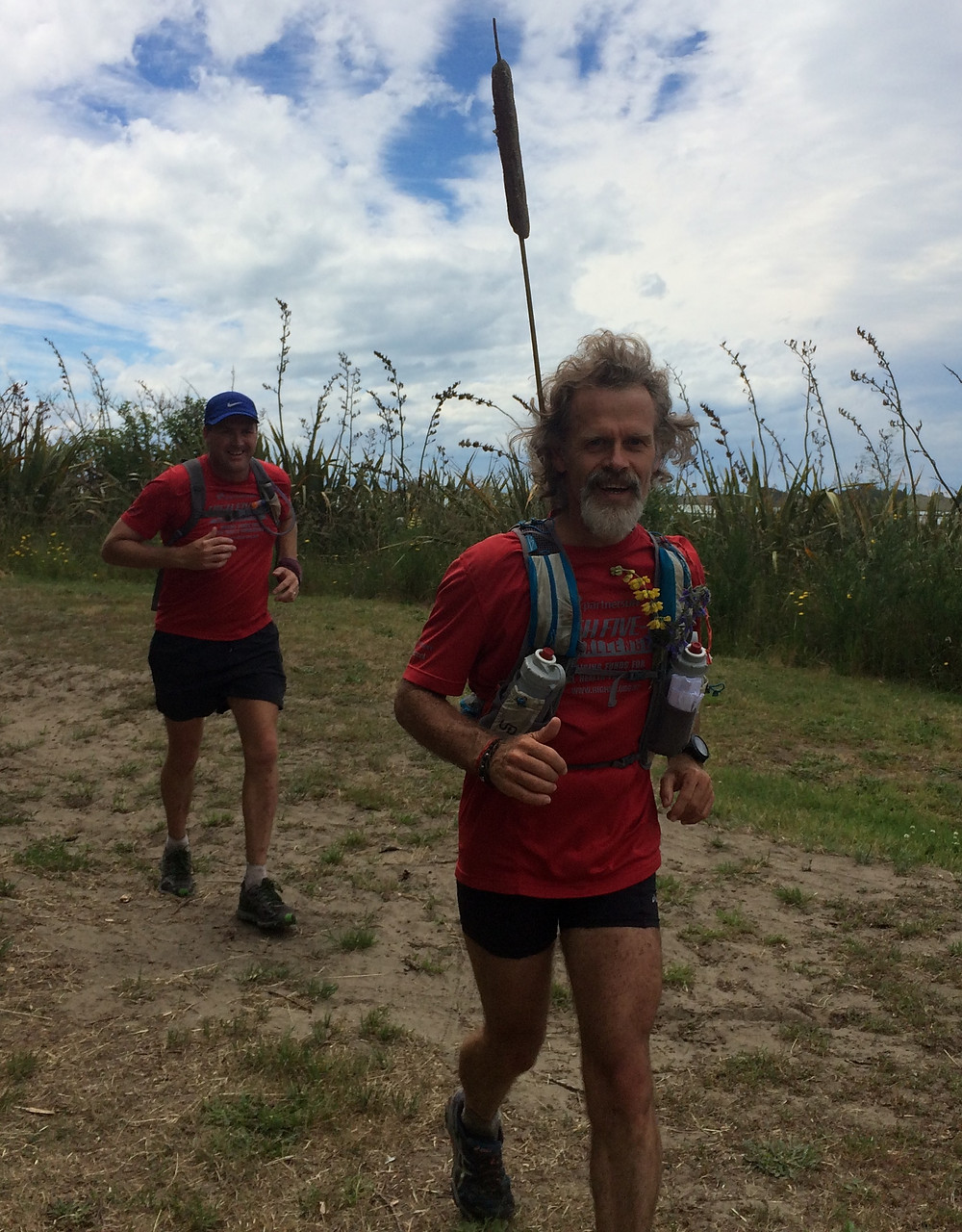 With Tony Sharpe on the Christchurch 360 trail with a looongway still to go!