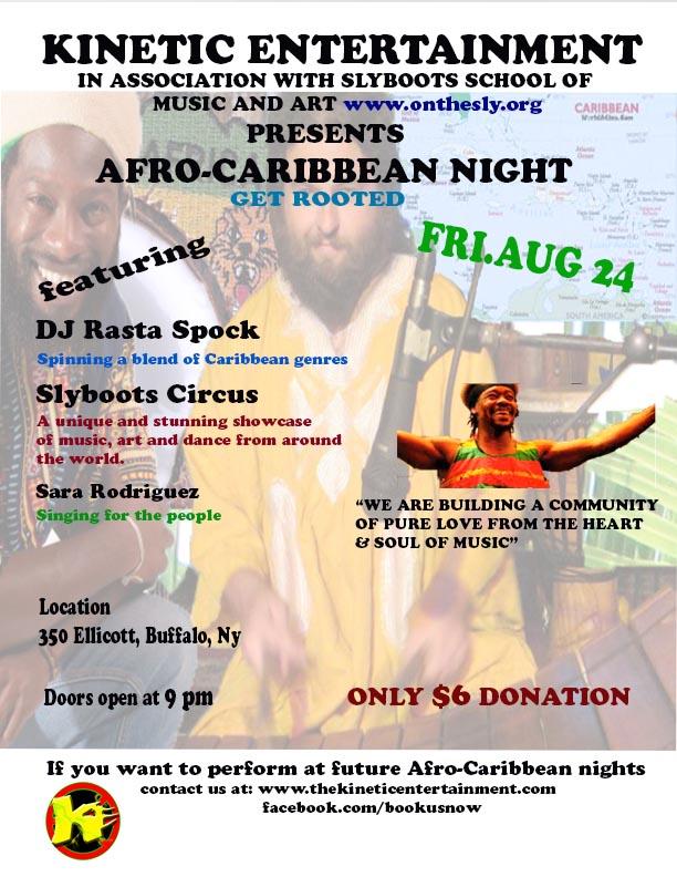 Afro-carib flyer