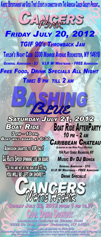 boat ride flyer