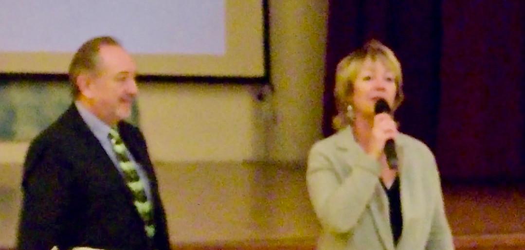 Mme Casellato, adjointe au Maire de Bormes Les Mimosas
