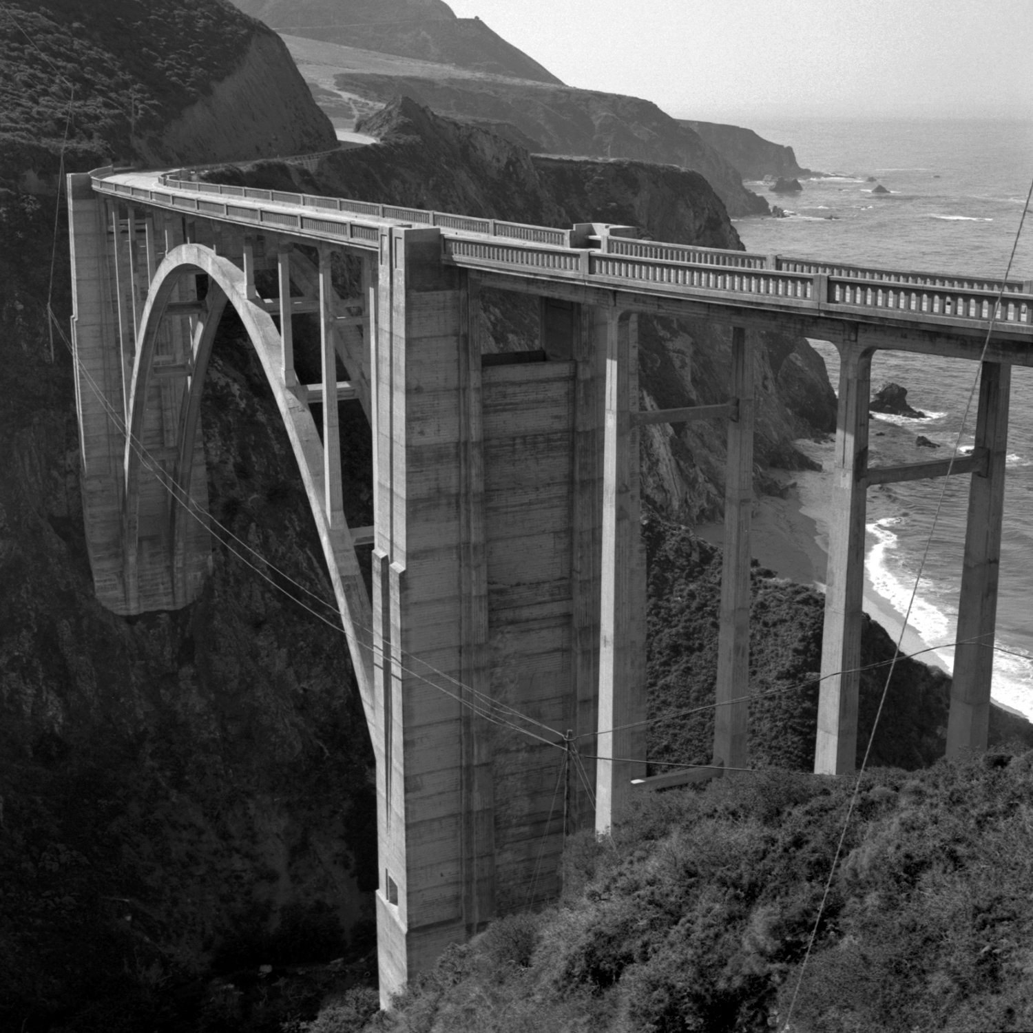 Bixby Bridge, Route 1, California
