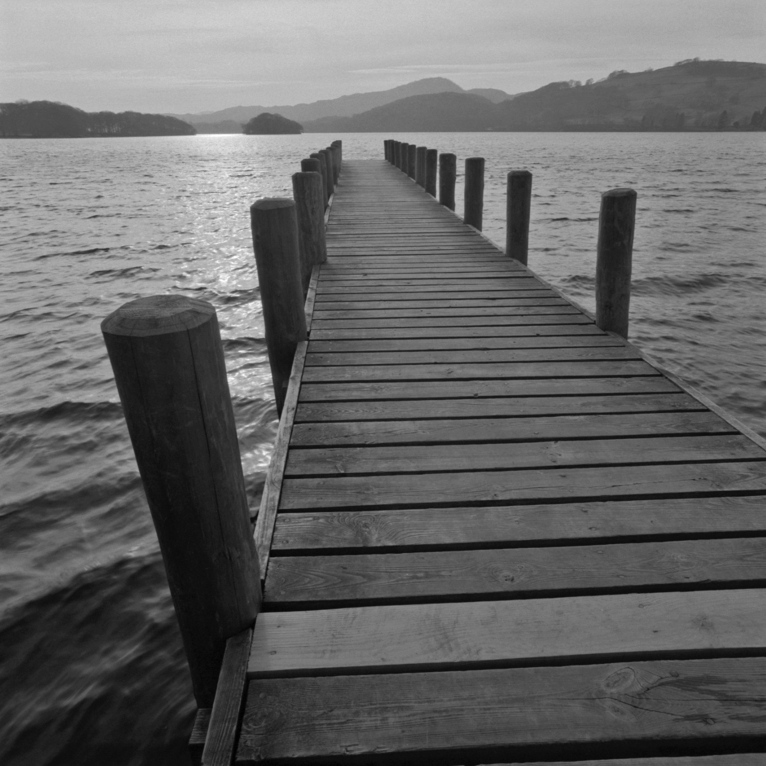 Pier, Lake District