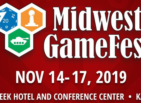 Meet us at the Midwest GameFest in Kansas City!