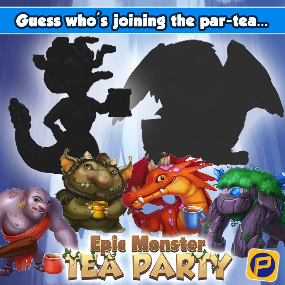 Epic Monster Tea Party Expansion Teaser, Playco Games