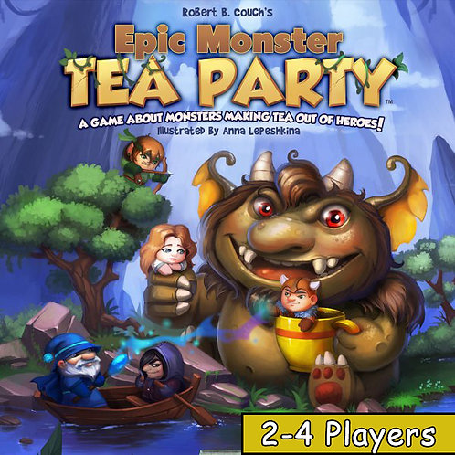 Epic Monster Tea Party (2-4 Players)