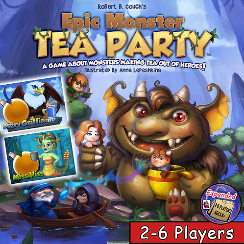 Epic Monster Tea Party (2-6 Players)