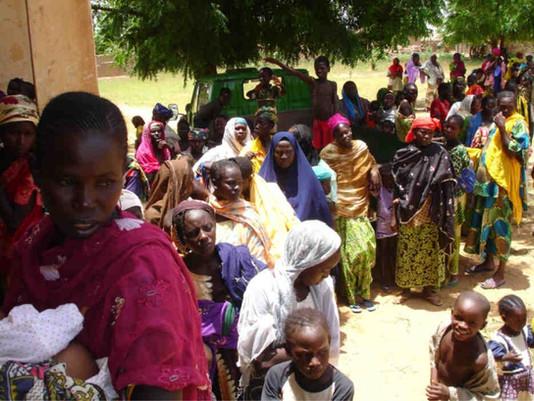 Kühlschränke für die Klinik in Kollo, Niger