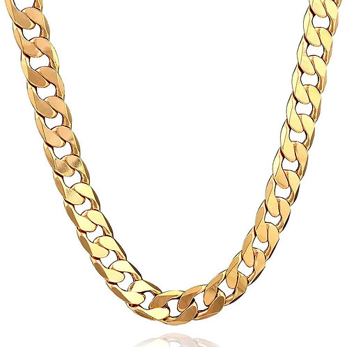 """""""GOLD CUBAN CHAINS COLLECTION"""""""