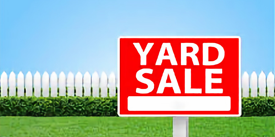 Vinyl Record Yard Sale