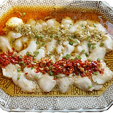 E24 双椒鱼片 Steamed Spicy Fish Fillets