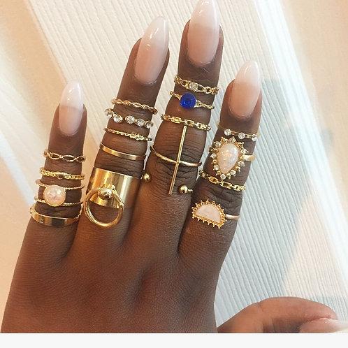 Fancy rings set