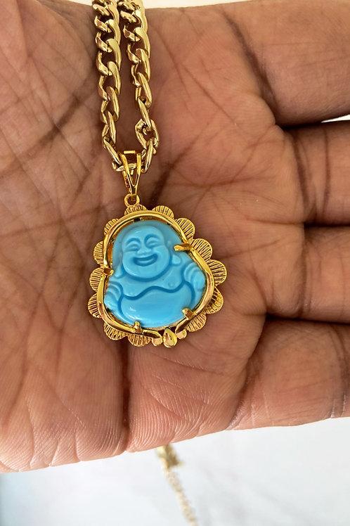 Baby blue Buddah