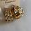 Thumbnail: Chunky bamboo earrings