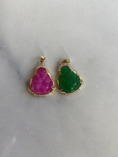 Mini jade necklaces