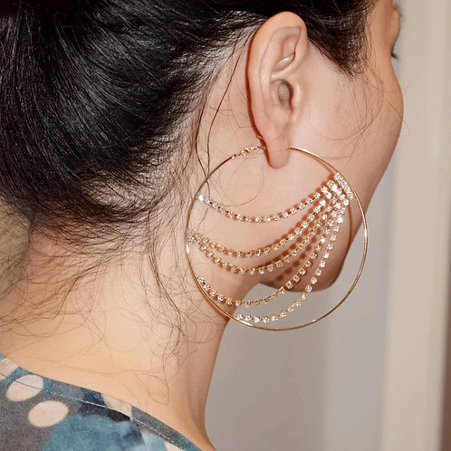 Yonce hoop earrings