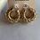 Thumbnail: Chunky bamboo earrings style2