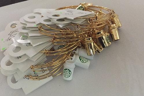 Starbucks charm bracelets
