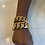 Thumbnail: Medium chunky Cuban link bracelet